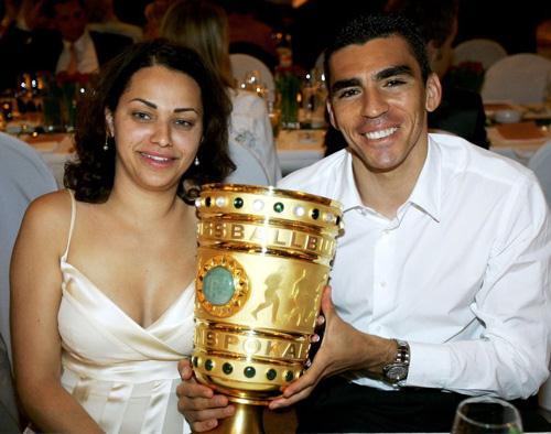 欧冠太太团之国米·卢西奥与妻子
