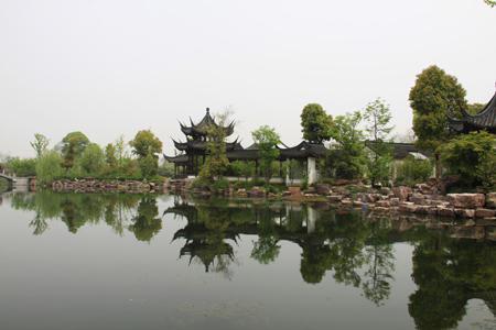 西溪湿地景观 人民网记者 李璐颖 摄-杭州西溪国家湿地公园