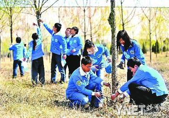 志愿者守护京城生命水源