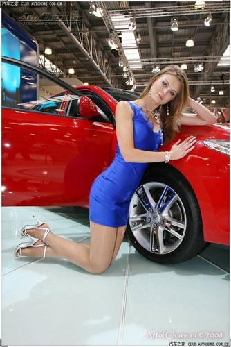 关键词: 车模 超级美女 美得 俄罗斯美女 大美