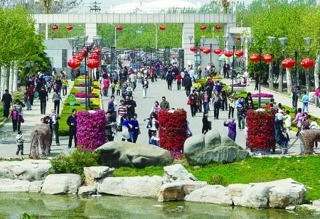 """动植物园 五一 王国新 动物园 班次 内容摘要: """"五一""""小长假期间,济宁"""