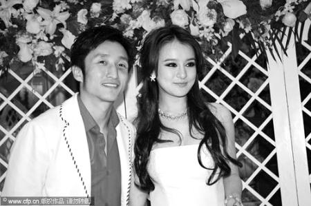 邹市明和冉莹颖-中国拳王邹市明与央视主播订婚图片
