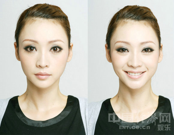 美女正脸头像无刘海