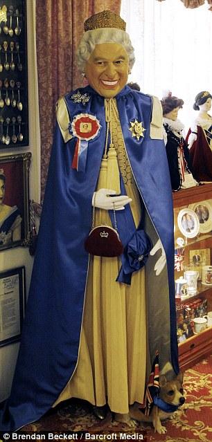 女皇 迎客 澳夫妇将住宅变成 皇家博物馆图片