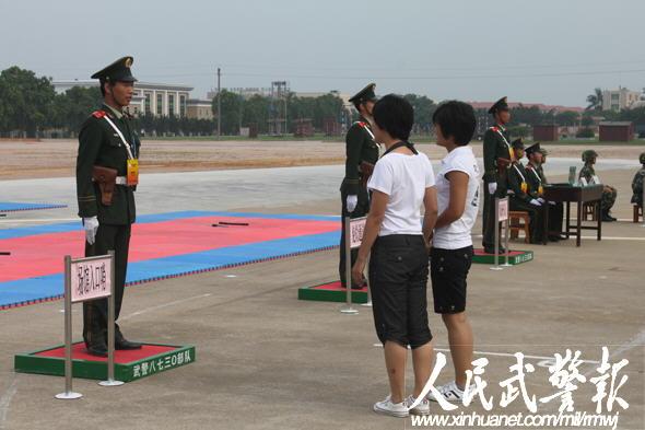 武警8730部队亚运安保集训 演练反恐等科目图片