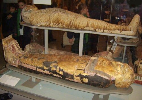 揭密古埃及法老王陵奇异事件图片