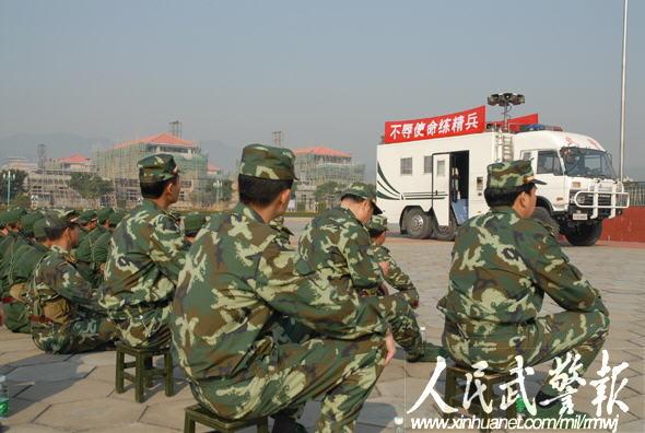 武警8730部队多手段开展政治工作铸南粤坚盾图片