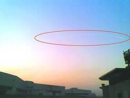 新闻快讯02:杭州上空惊现UFO  大批航班延误(组图) - 外星人给地球的忠告 * 2012 - UFO外星人不明飞行物和平天使2012