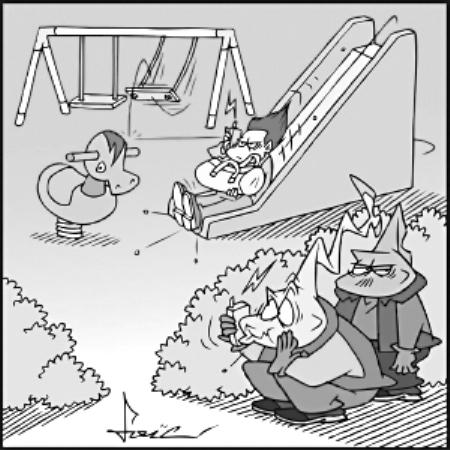 滑梯的简笔画步骤大全