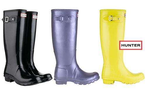 hunter橡胶雨靴 雨季cool潮人