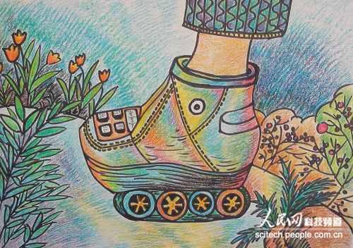 未来的鞋科幻画_图片大全