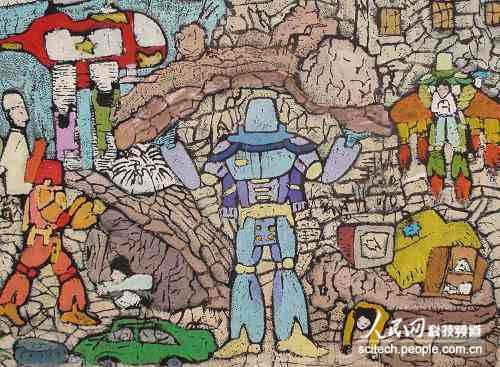 科幻世界 惊艳画展亮相广州第25届全国青少年科技创新大赛科幻画展