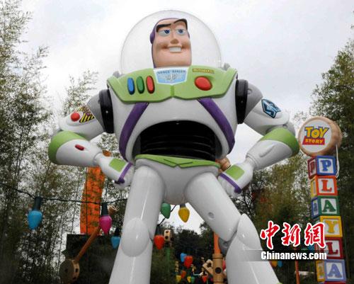 香港将建亚洲首个 玩具总动员 主题乐园