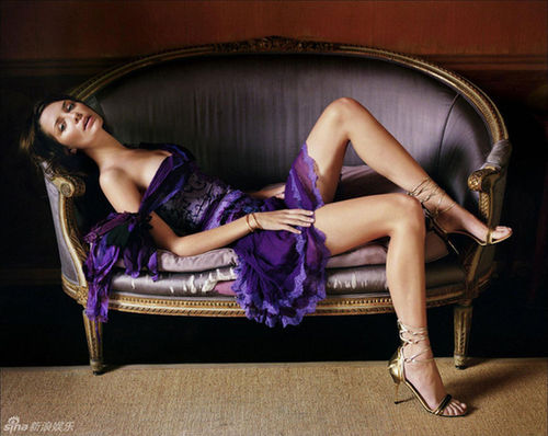 好莱坞美女米沙 巴顿魅力写真
