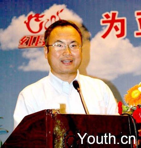 团中央网络影视中心副主任、中国青少年网络协会秘书长 郝...