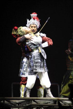 """""""《木兰诗篇》将中国传统音乐与欧洲歌剧进行了完美嫁接,这是维也纳"""