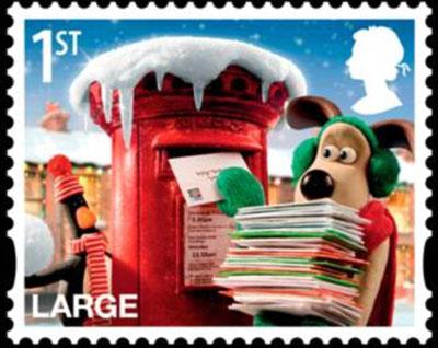 超级无敌掌门狗 登上邮票惹人爱