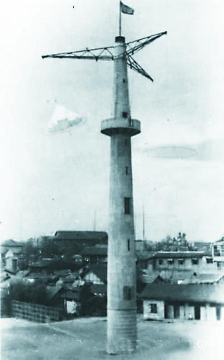 跳伞塔断臂将修复 明年可望再度跳伞 高清图片