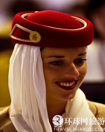 实拍 世界各地空姐迷人的微笑图片