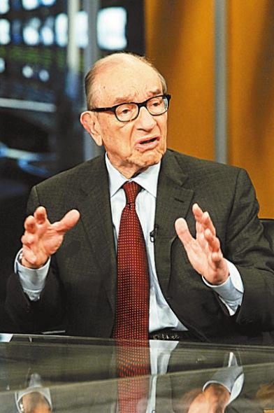 格林斯潘警告 美国庞大财赤或酿债市危机