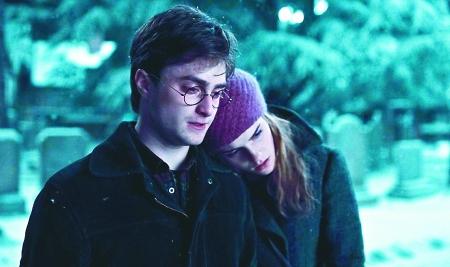 哈利/哈利和赫敏有些暧昧