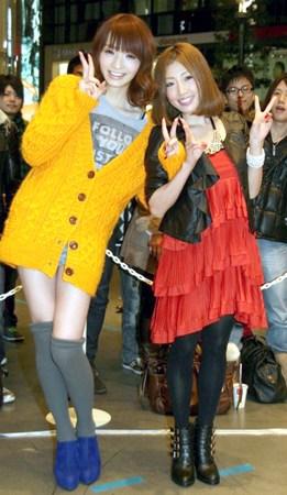 (左起)佐藤佳代和Tiara-日本变性模特为好友站台 希望男友包容性别
