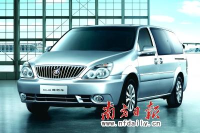 2011款别克GL8商务车-全新GL8豪华商务车进军豪华MPV市场高清图片
