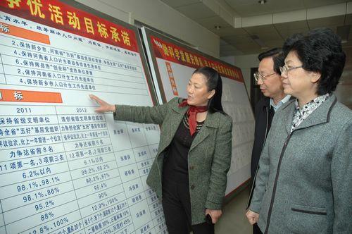 李斌主任考察辉县市人口计生系统创先争优活动情况-李斌主任强调 以