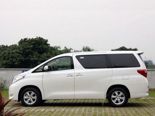 丰田mpv埃尔法最高加8万提现车 少量现货高清图片