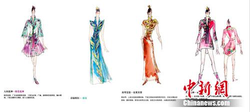 访广州亚运会礼仪系统服装首席设计师