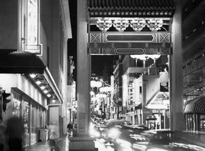 墨尔本唐人街夜景-墨尔本唐人街 世界上最古老的 中国城图片