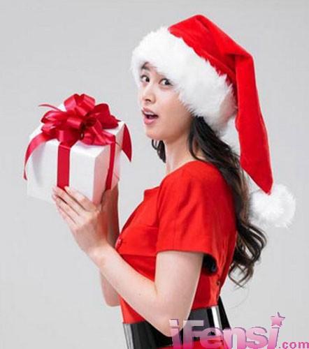 圣诞老人也爱性感美女组图