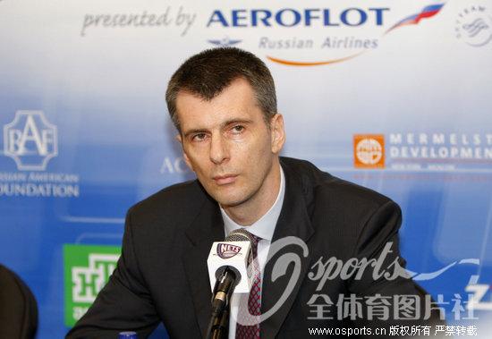 普罗霍洛夫宣布彻底退出追逐卡梅隆·安东尼