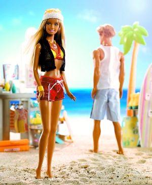 人节复合 美国芭比娃娃和肯借助社交网络再续前缘图片