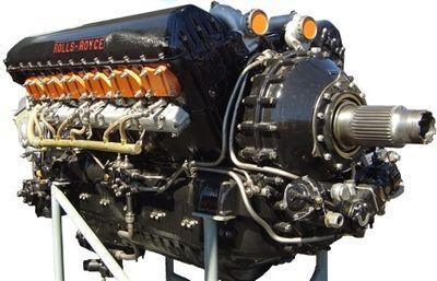 """""""灰背隼""""是一种液冷v-12活塞式航空发动机,功率达到1238千瓦,甚至"""