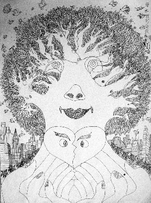 素描图片春天大树1.8