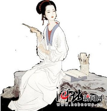 李清照――中国四大才女之一-女性教育再掀反 小三 热潮 网友历数中国图片