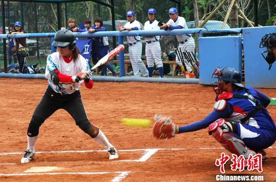 2011海峡两岸女子垒球赛火热开赛