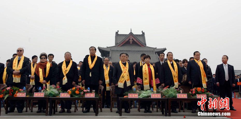 第二十一届大槐树寻根祭祖大典在山西洪洞举行 - liangjfa@126 - 都梁风雅的博客