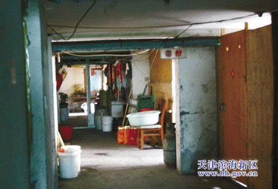 出租,并且住在地下室里的租户普遍存在私接电线和