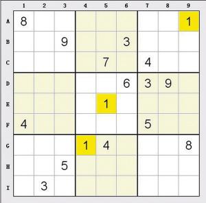 数独题目大全难度系数9_数独题目大全难度系