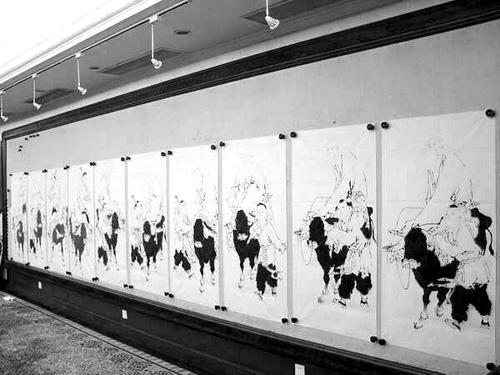 范曾 被批评 流水线作画