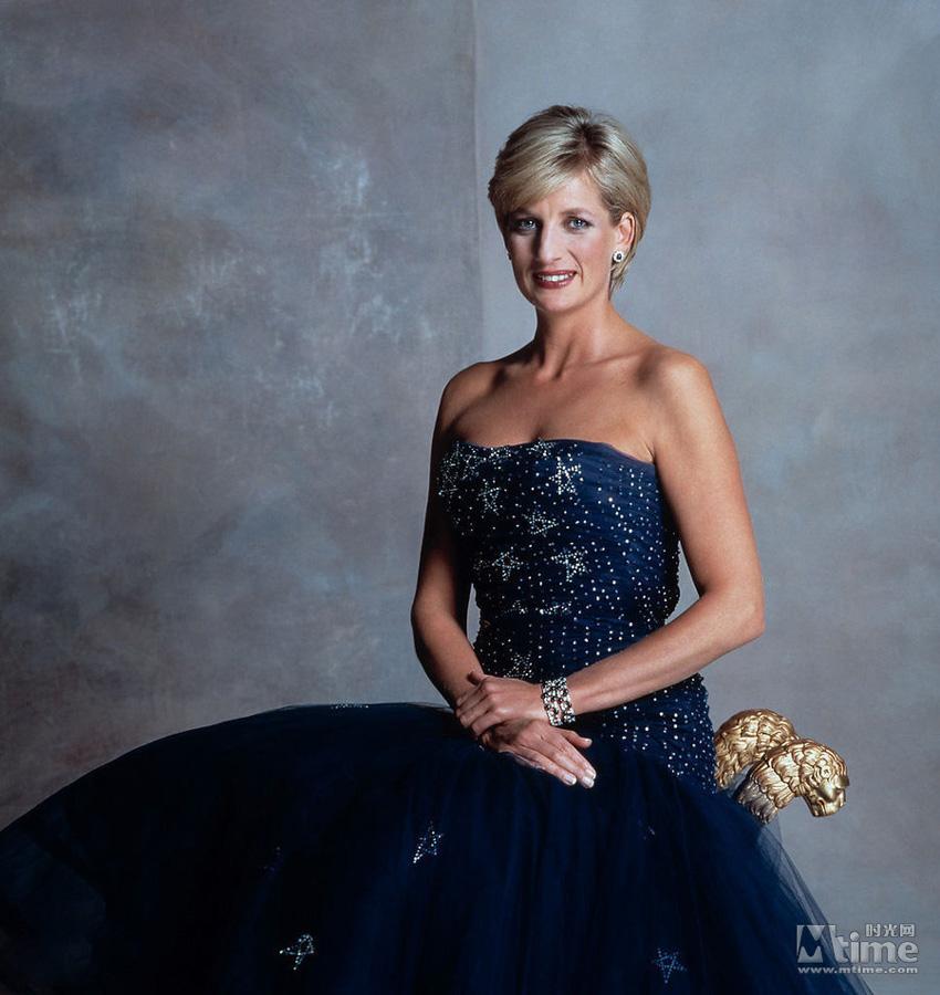 英国戴安娜王妃-全球王室十大美女榜单出炉 英两任王妃入围