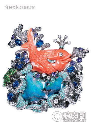 生命姿态 高级珠宝里的动物世界