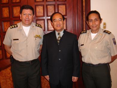 王卫华/2011年5月3日,驻瓜亚基尔总领事王卫华拜会厄瓜多尔瓜亚基尔市...