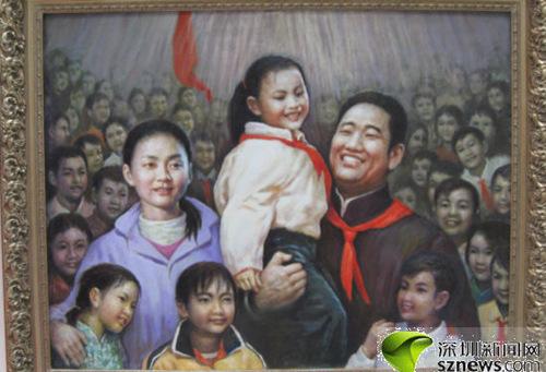 200件深圳侨界书画艺术作品展出 丛飞夫妇 现身