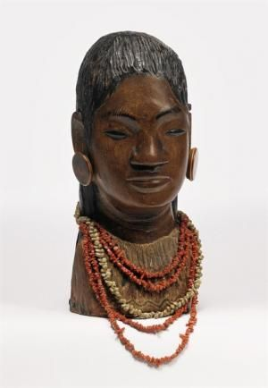 罕见高更木雕在纽约拍卖刷新纪录
