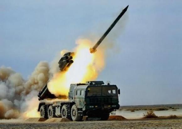 简氏称中国研发新型模块化远程多管火箭炮出口图片