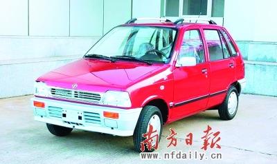 众泰旗下江南奥拓正式更名为江南tt,新车售价为2.08万―2.58高清图片