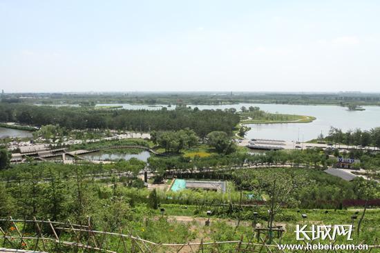 唐山市南湖公园 可持续发展自然资源的典范